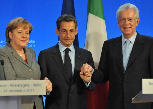 Sarkozy to meet with Merkel, Monti in Berlin on Wednesday
