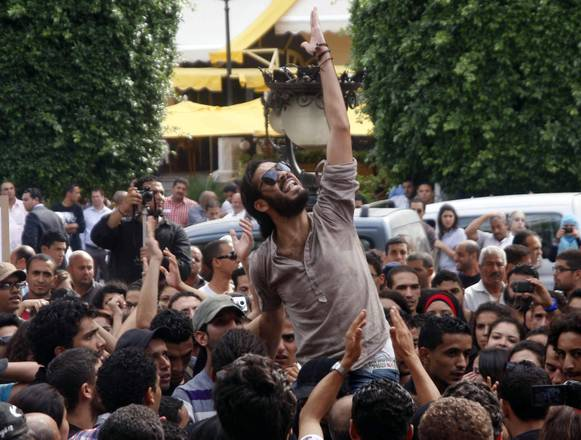 Protest against religious and political violence, in Tunis (archive)