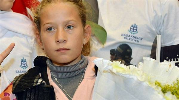 Ahed Tamimi, 13, challenged an Israeli patrol in the West Bank last month