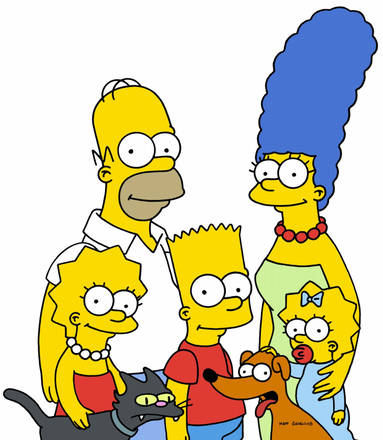 The Simpson family