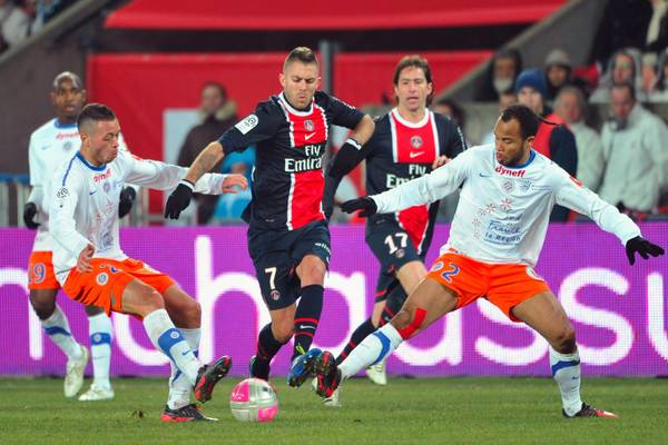 Paris Saint Germain vs Montpellier Herault SC