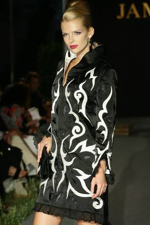 One of the creations by Palestinian designer Jamal Taslaq
