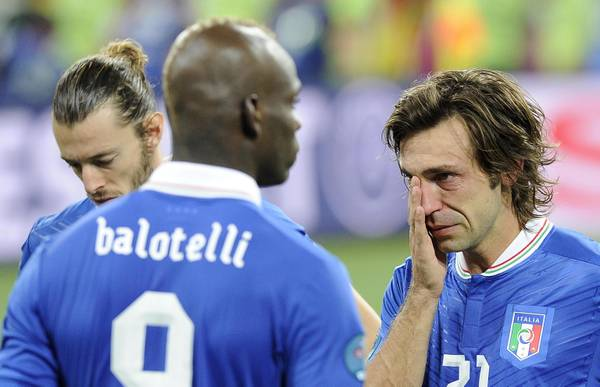 Azzurri in tears after the defeat