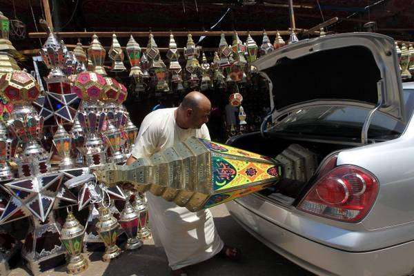 Ramadan preparations in Cairo