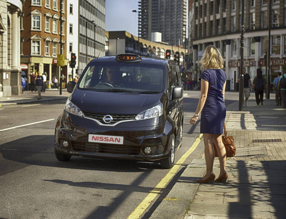 Nissan NV200 versione taxi