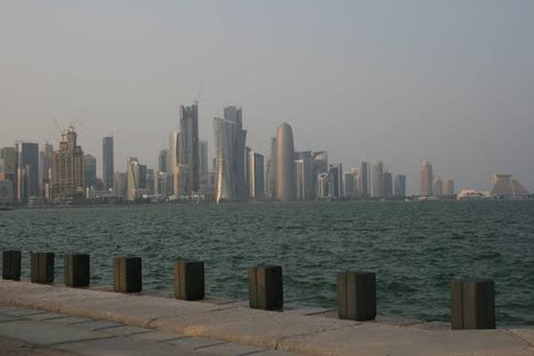 A view of Doha