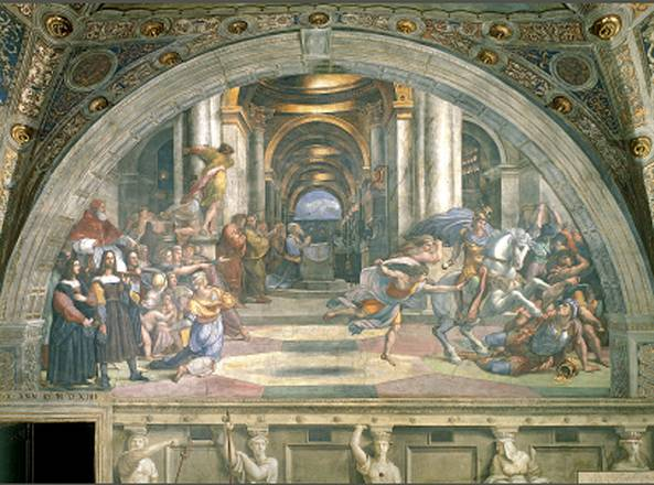Restoration of Raphael frescoes completed at Vatican museums
