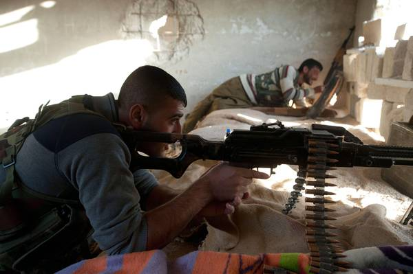 Fighters in Syria (archive)