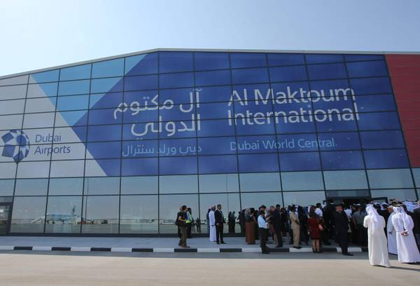 Al Maktoum International Airport, in Jebel Ali, Dubai