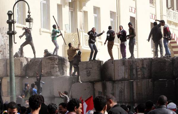 Clashes in Tahrir square in Cairo (archive foto)