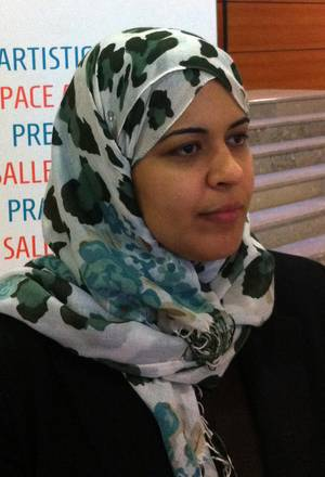 Dalia Ziada, an Egyptian human rights activist and the director of the Ibn Khaldum Center for Democratic Studies