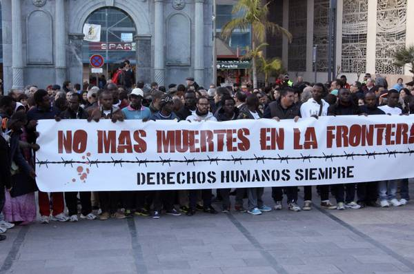 Immigration: protests in Ceuta against Spanish government ...