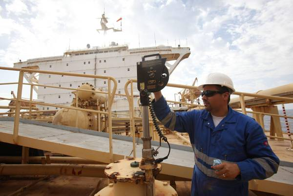 Mellitah Oil and Gas B.V. Oil Division Bouri field in Libya (archive)