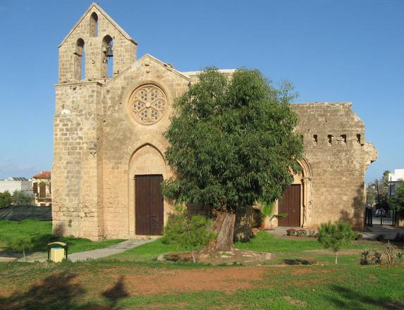 The church of St. George in Famagosta