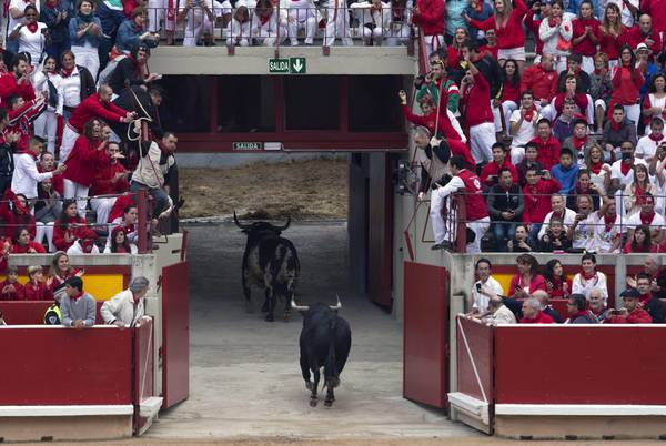 An analysis of the culture of spain and the concept of the running of the bulls at the fiesta de san