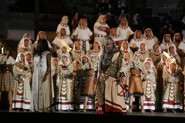 An edition of Aida at the Verona Arena (archive photo)
