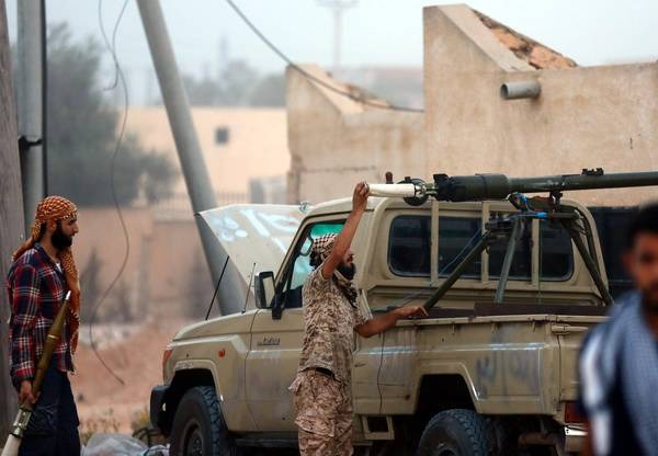 Clashes break out between fighters near Libyan capital [ARCHIVE MATERIAL 20140916 ]