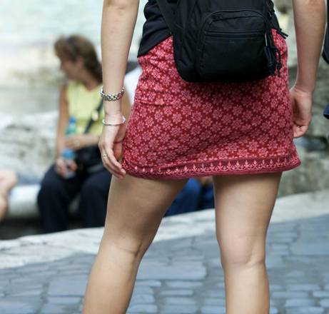 Miniskirt sparked controversy in Morocco