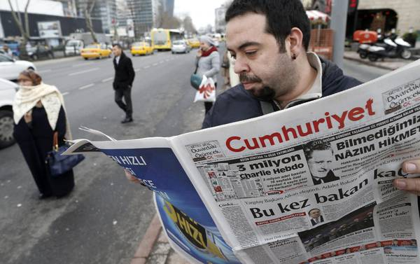 Turkish daily newspaper Cumhuriyet