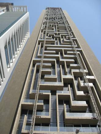 The Maze Tower in Dubai