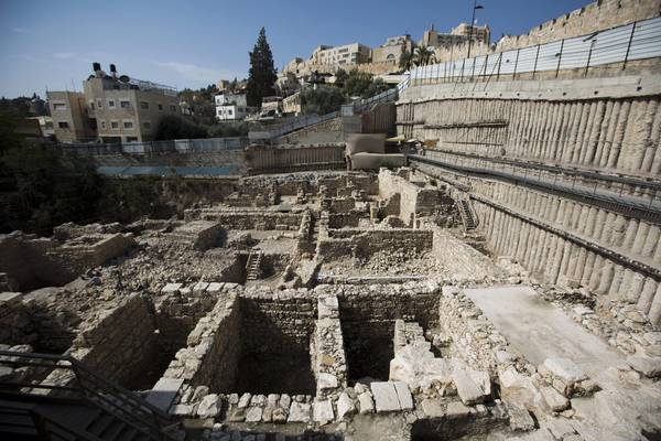 Epiphanes stronghold found in Jerusalem