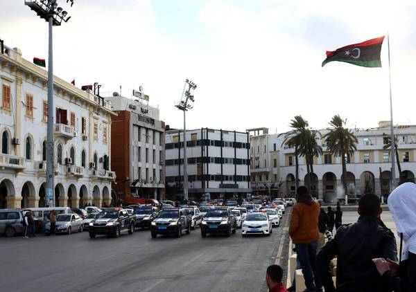 Security in Libyan capital Tripoli [ARCHIVE MATERIAL 20150209 ]