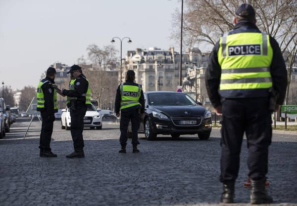 A terror suspect arrested in Paris