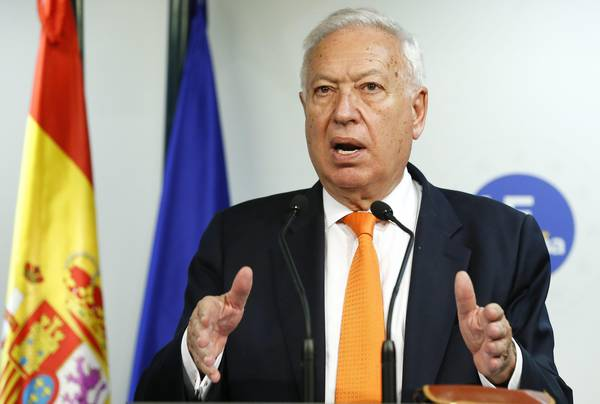 Spanish Foreign Minister, Jose Manuel Garcia-Margallo