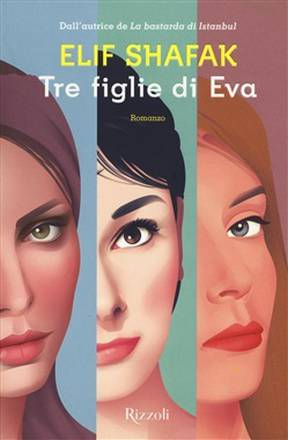 The cover of Three Daughters of Eve by Elif Shafak