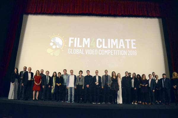 Young filmmakers mobilise against climate change at Cop22