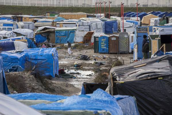 Calais migrant 'Jungle' camp