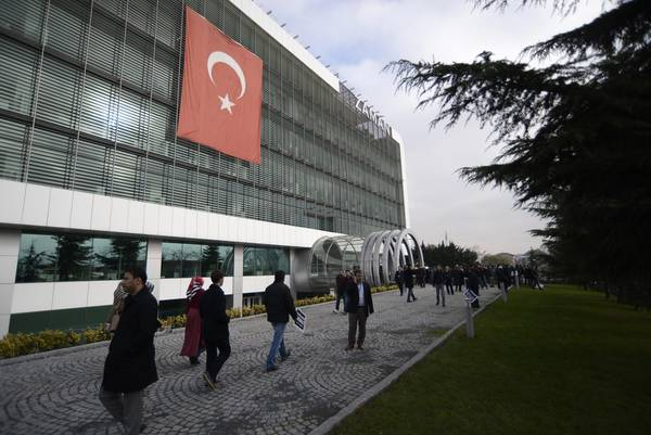 Zaman has been put in administration for links with magnate Gulen