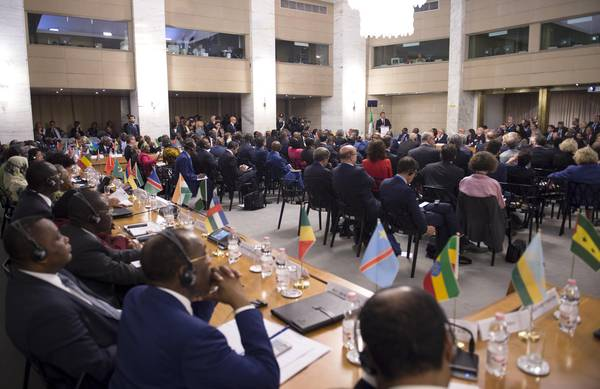 Italy-Africa: Renzi at first ministerial conference in Rome