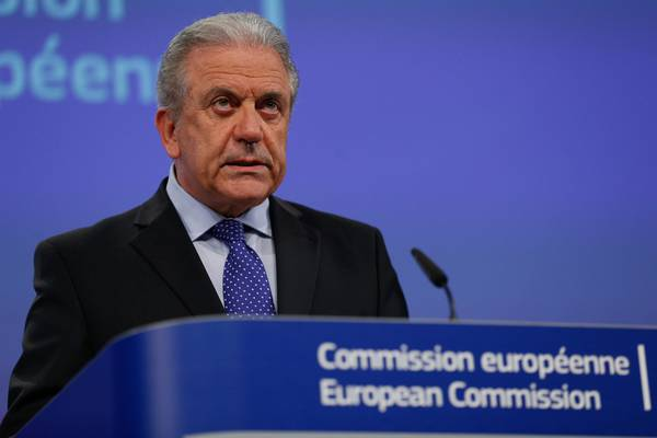 EU Commissioner for Migration and Home Affairs Dimitris Avramopoulos