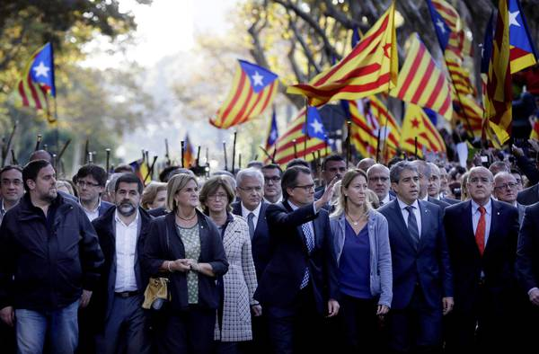 Catalonia referendum possible in summer, says vice president