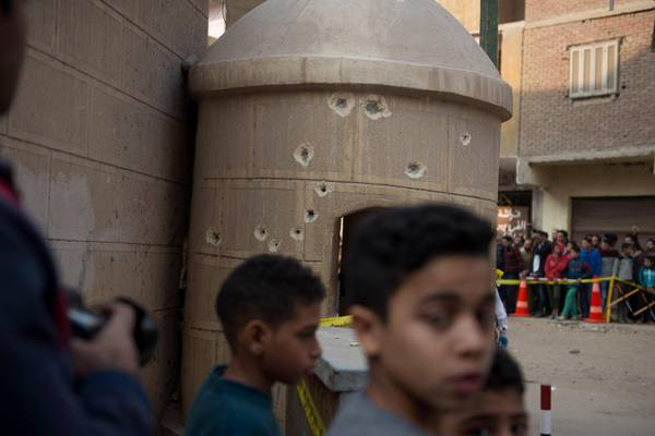 Terrorist attack on the Mir Mina Coptic church, in Egypt