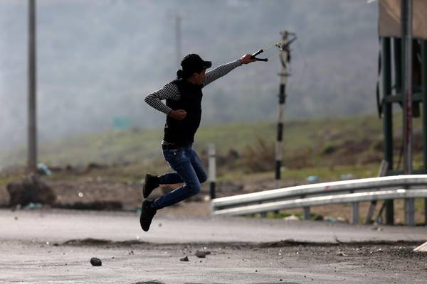 Friday's clashes in the West Bank