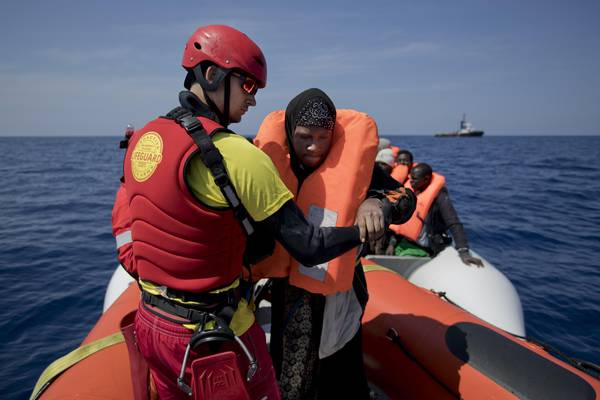 8,500 migrant arrivals in 3 days on Italy's shores