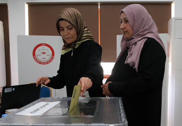 Almost three million Turkish voters living abroad can vote at polling stations open in 120 diplomatic missions across 57 countries until Sunday