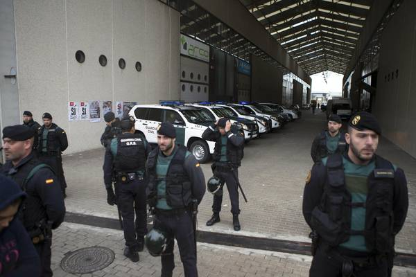 Guardia Civil in the Catalan government