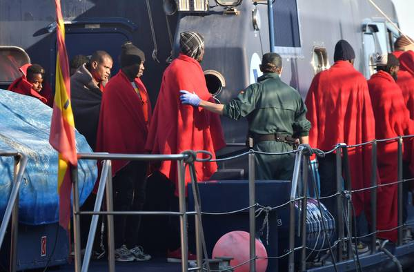 Migrant arrivals in Spain doubled in 2017 - General news