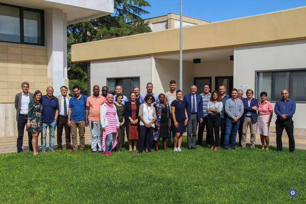 The participants of the course on the Blue Economy organized by Ciheam in Bari, southern Italy
