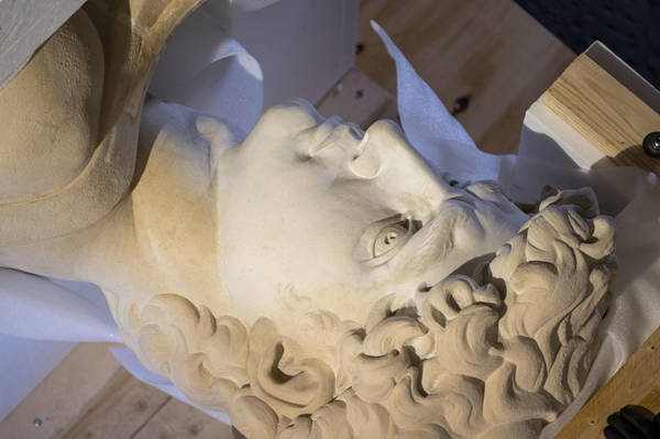 Completed 3D copy of Michelangelo�s David in Florence