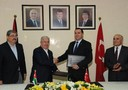 The signing of the accord between Aqaba (Jordan) and Turkey