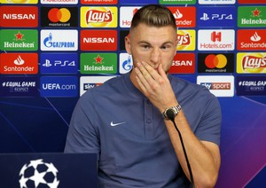 Soccer: Champions League; Fc Inter press conference