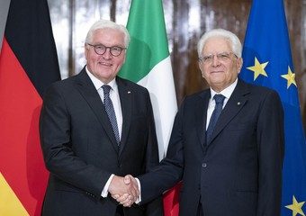 German President Steinmeier in Rome