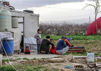 Al Faydah refugee camps in the Bekaa Valley