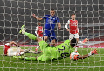 Premier League: Arsenal-Leicester 1-1 (ANSA)