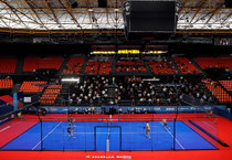 Una partita del World Padel Tour (ANSA)