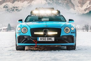 Bentley Continental GT IceRace abominevole bolide delle nevi (ANSA)